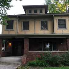 Rental info for 5 BR/3BA-Beautiful (2 kitchens/2laundry's) 1900 Arts & Crafts home in Fall Creek in the Indianapolis area