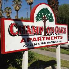 Rental info for CHAMPION OAKS APARTMENTS! GORGEOUS 1&2 BEDROOM UNITS AVAILABLE FOR FANTASTICALLY LOW RENT!!!!! in the Riverside area