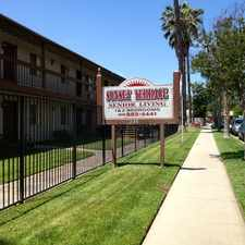 Rental info for WOW!!! ENJOY 55+ LIVING AT SUNSET TERRACE APARTMENTS! in the San Bernardino area