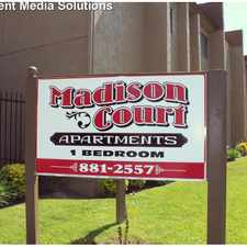 Rental info for Madison Court Apartments. Spectacular property!! Large Units Available NOW! in the San Bernardino area