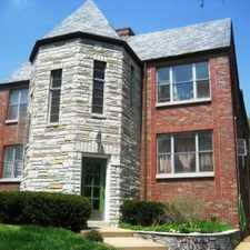 Rental info for 6431 Nottingham - St. Louis Hills Gem Located on Francis Park - 1Br/1Ba in the St. Louis Hills area