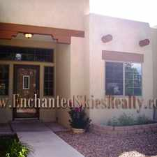 Rental info for Gorgeous 4 Bedroom Pueblo Style Home Close to Rail Runner