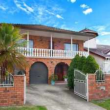 Rental info for FIT FOR A KING ! in the Sydney area