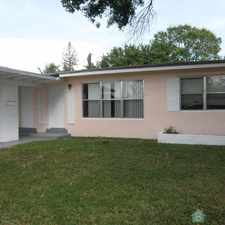 Rental info for 4/2 house located South of Broward Blvd on 31st Ave. in the Melrose Manors area