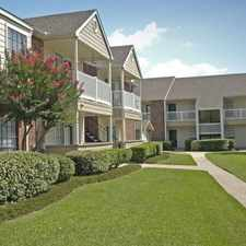 Rental info for Marymont in the Houston area