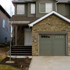 Rental info for Edmonton Duplex for rent in the Anthony Henday Terwillegar area