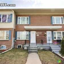 Rental info for 2750 3 bedroom Townhouse in Toronto Area Scarborough in the Kennedy Park area