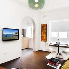 Rental info for CHIC INNER-CITY PAD - NEW YORK INSPIRED GLAMOUR in the Potts Point area
