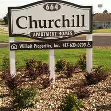Rental info for Churchill Apartments