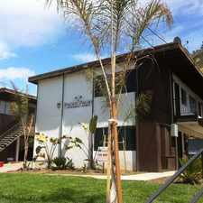 Rental info for Pacific Palms Apartment Homes located off Poli St in Ventura