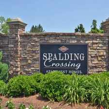 Rental info for Spalding Crossing Apartments and Townhomes
