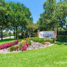 Rental info for Hulen Oaks