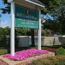 Rental info for Mill Creek Village Apartments