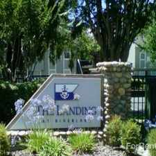 Rental info for The Landing at Riverlake in the Sacramento area