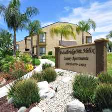 Rental info for Woodbridge Mt. Helix Apartments in the Spring Valley area