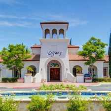 Rental info for Legacy Apartment Homes in the San Diego area
