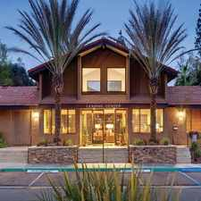 Rental info for Hidden Cove Apartments in the Escondido area