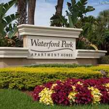 Rental info for Waterford Park Townhomes