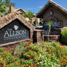 Rental info for The Allison