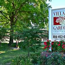 Rental info for Village Gardens Apartments in the Kansas City area