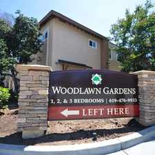 Rental info for Woodlawn Gardens