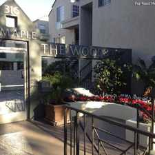 Rental info for The Woods at Toluca Lake in the Los Angeles area