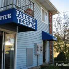 Rental info for Parkhill Terrace Apartments