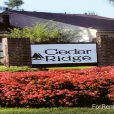 Rental info for Cedar Ridge Patio Homes