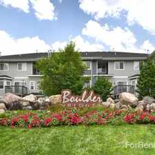 Rental info for Boulder Ridge