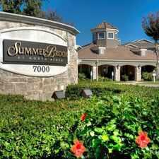 Rental info for Summer Brook