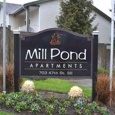 Rental info for Mill Pond Apartments