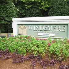 Rental info for Windemere Apartments in the Raleigh area