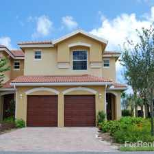 Rental info for Enclave at St. Lucie West