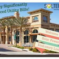 Rental info for Solterra EcoLuxury Apartments in the San Diego area