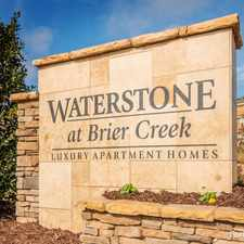Rental info for Waterstone at Brier Creek in the Raleigh area