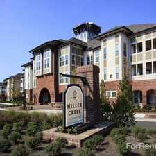 Rental info for Miller Creek at Germantown
