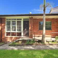 Rental info for Tidy 2 Bedroom Unit in Quiet Cul-De-Sac in the West Wollongong area