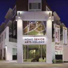 Rental info for NoHo Senior Arts Colony in the Los Angeles area