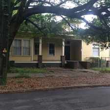 Rental info for large home, 3 large bedrooms, 3 baths, large living rm/dining rm/ kitchen with stove & dishwasher, CHA, fenced yard, porch, off street parking,utility rm with w/d hookups