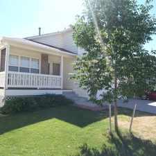 Rental info for Big tri-level home, hardwoods, 4 bed w/office, finished basement, 3 car garage