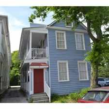 Rental info for 12 Cannon St in the Charleston area