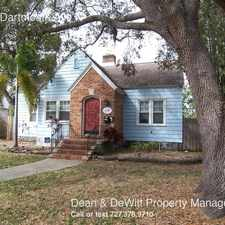 Rental info for 2649 Dartmouth Ave N in the St. Petersburg area