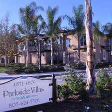 Rental info for Parkside Villas