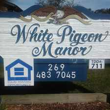 Rental info for White Pigeon Senior Apartments