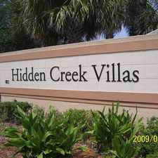 Rental info for Hidden Creek Villas