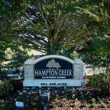 Rental info for Hampton Creek Apartments