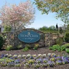 Rental info for Stone Creek Village