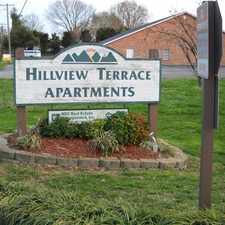 Rental info for HILLVIEW TERRACE APARTMENTS