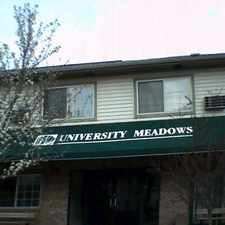 Rental info for University Meadows