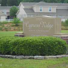 Rental info for Cypress Ridge